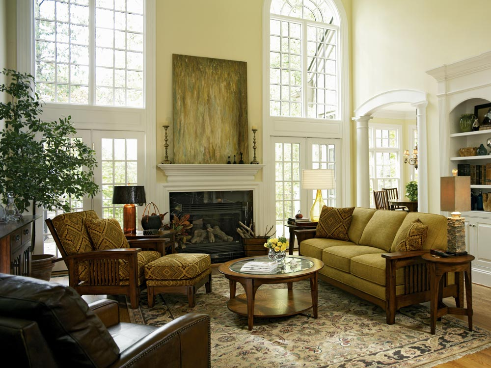 Traditional Living Room Furniture (Image 9 of 10)
