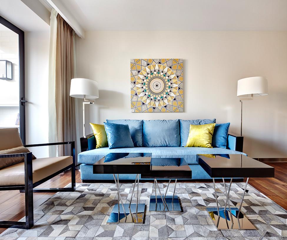 Intresting Minimalist Penthouse Design