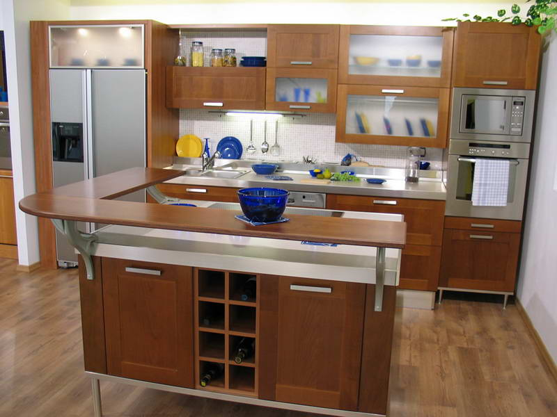 Island Table IKEA Kitchen Cabinets (View 8 of 10)