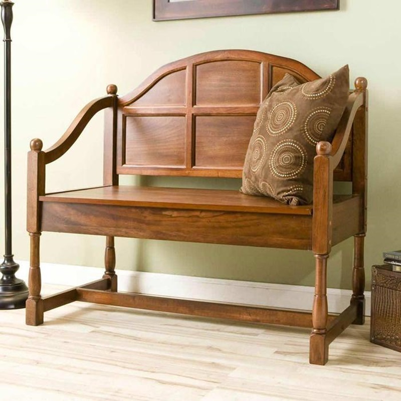 Jaclyn Smith Storage Bench (View 5 of 10)
