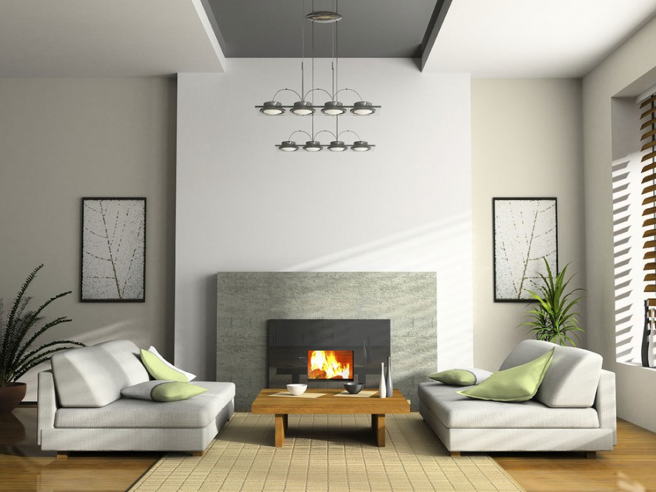 Japanese Style Minimalist Living Room Decorations