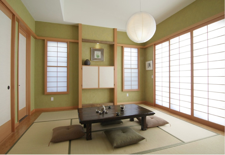 Japanese Stylist Minimalist Living Room Decorations (Image 6 of 10)