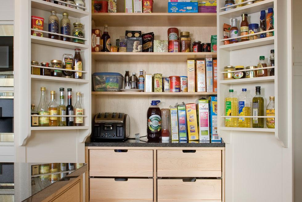 Large Functional and Practical Kitchen Pantry