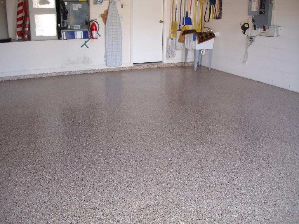 Light Grey Basement Floor (Image 10 of 10)