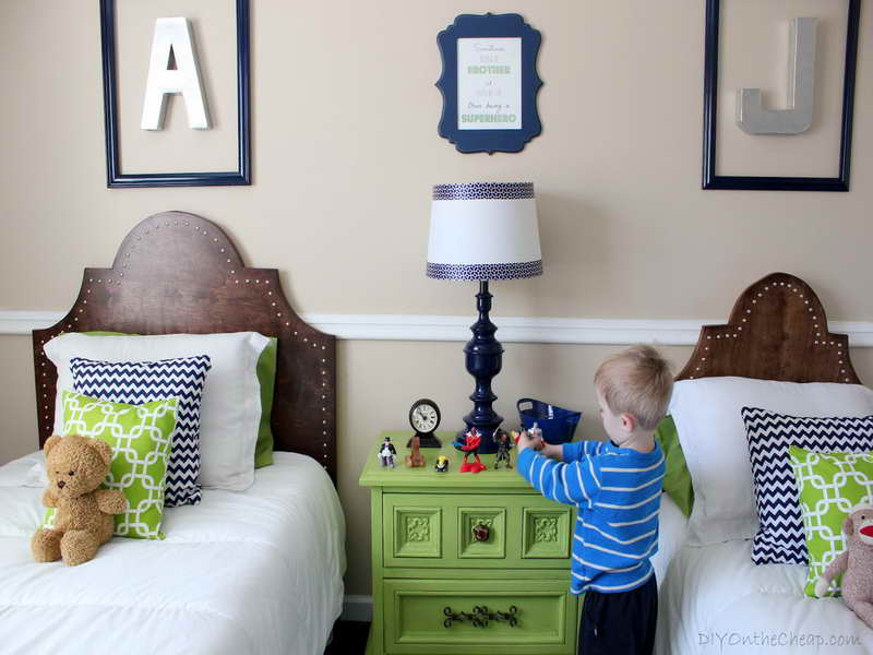 Little Boy Rooms with Twin Bed