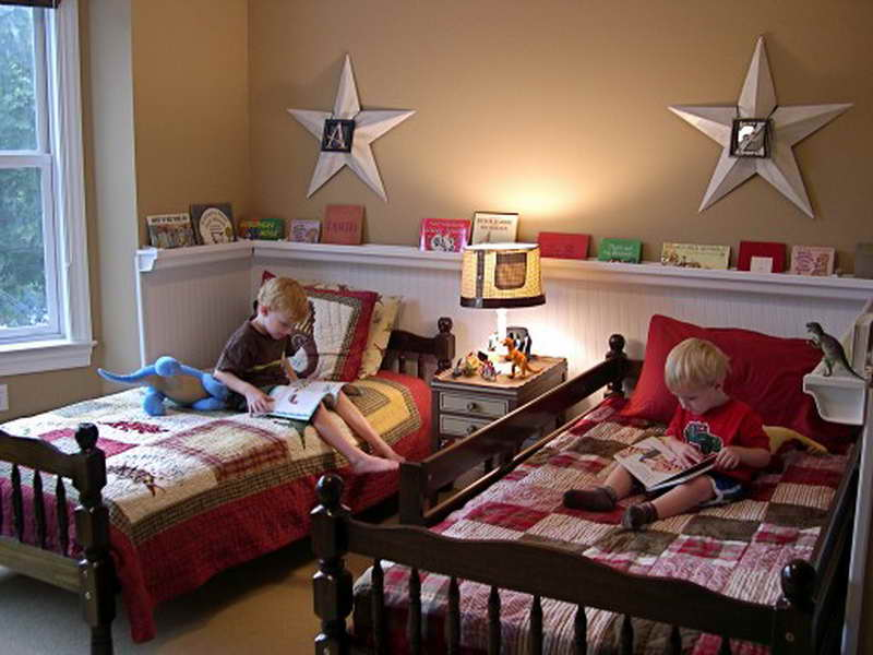 Little Boys Room Ideas with Twin Bedroom