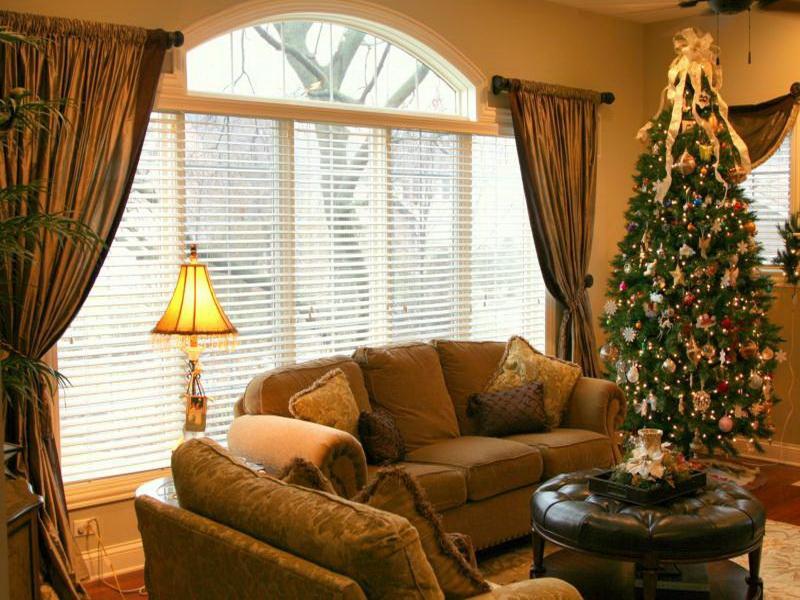 Living Room Window Treatment Ideas (Image 5 of 10)