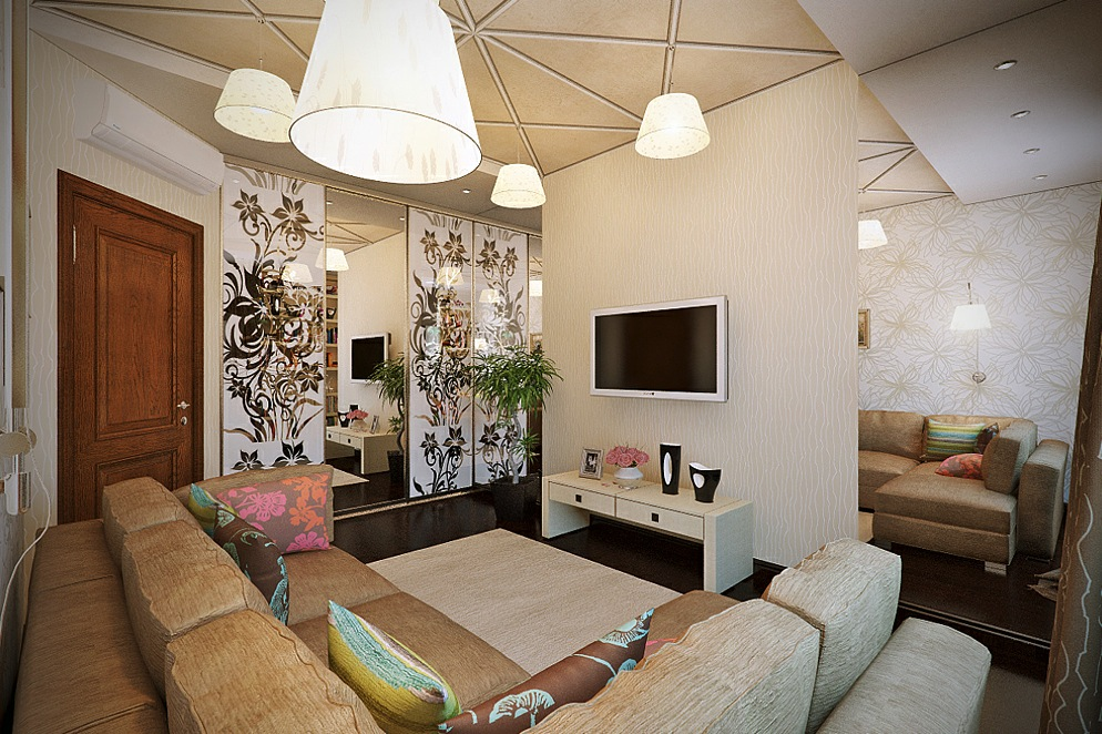 Living Rooms With A Feminine Touch (View 4 of 10)
