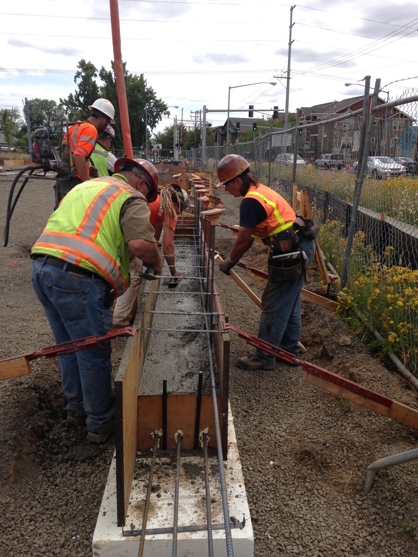 Long Techniques to Pouring a Concrete Slab