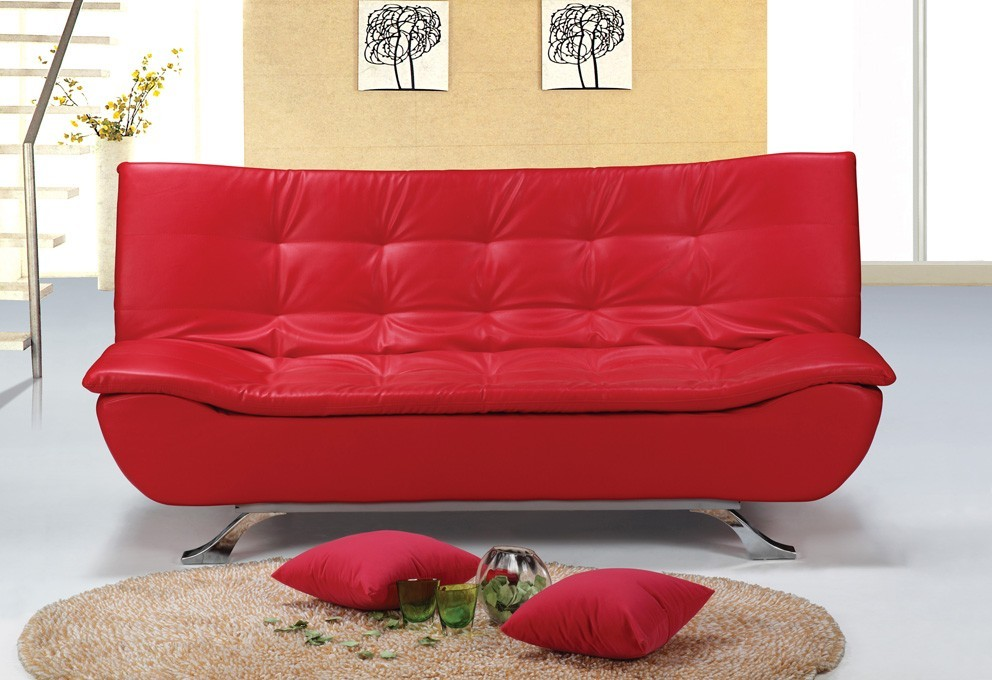 Lovely Red Sofa Bed Sheets