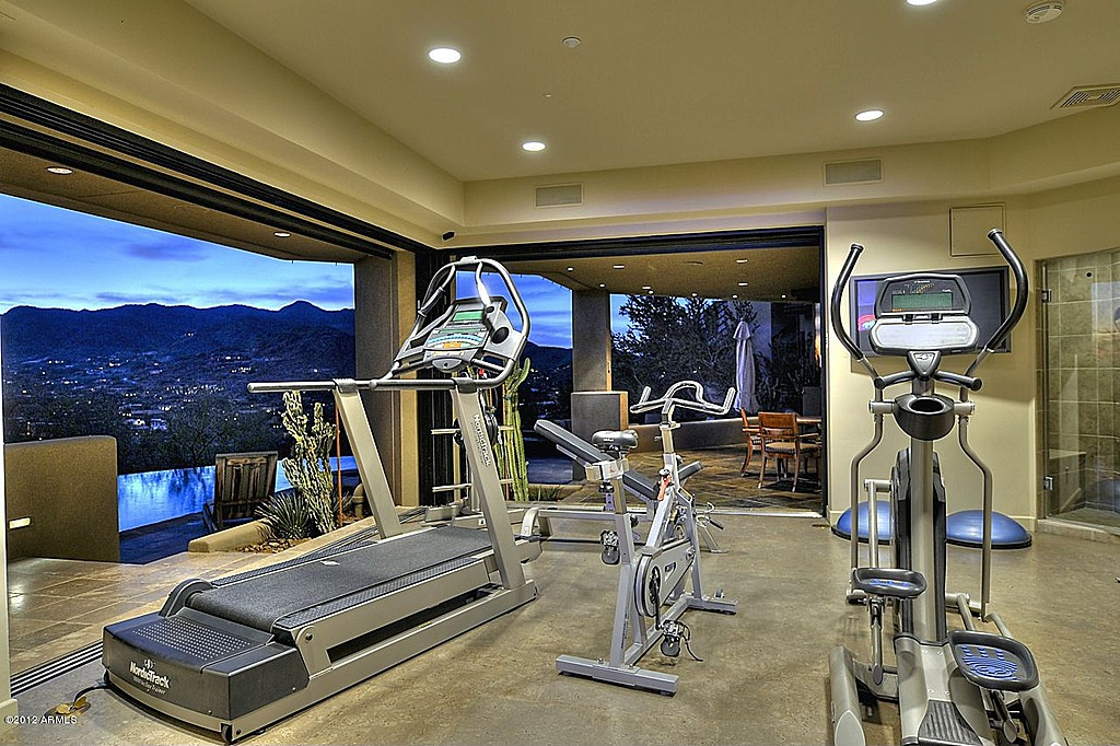 Luxurious Designing Gym Room In Home (Photo 4 Of 10)
