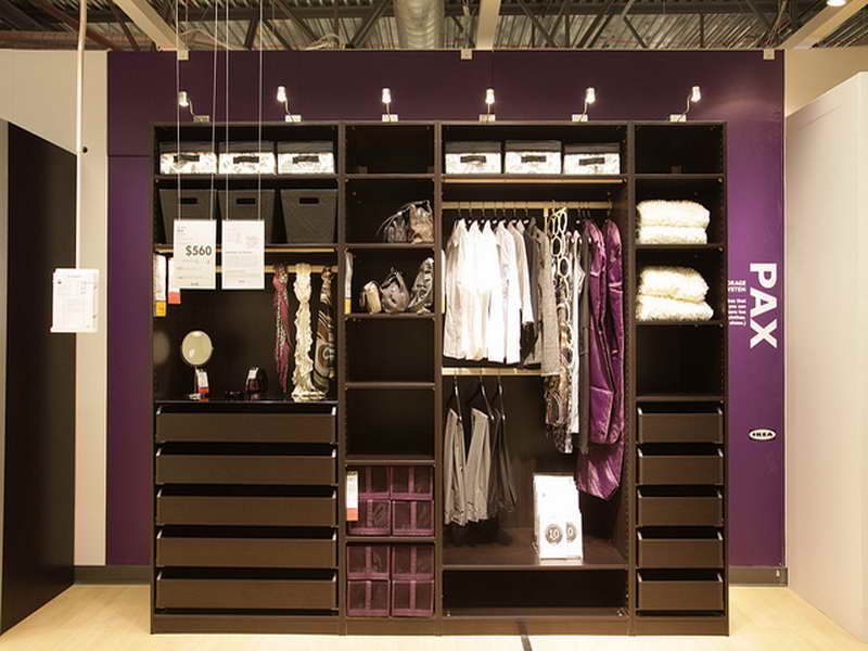 Luxurious IKEA Closet Design Ideas (View 5 of 10)