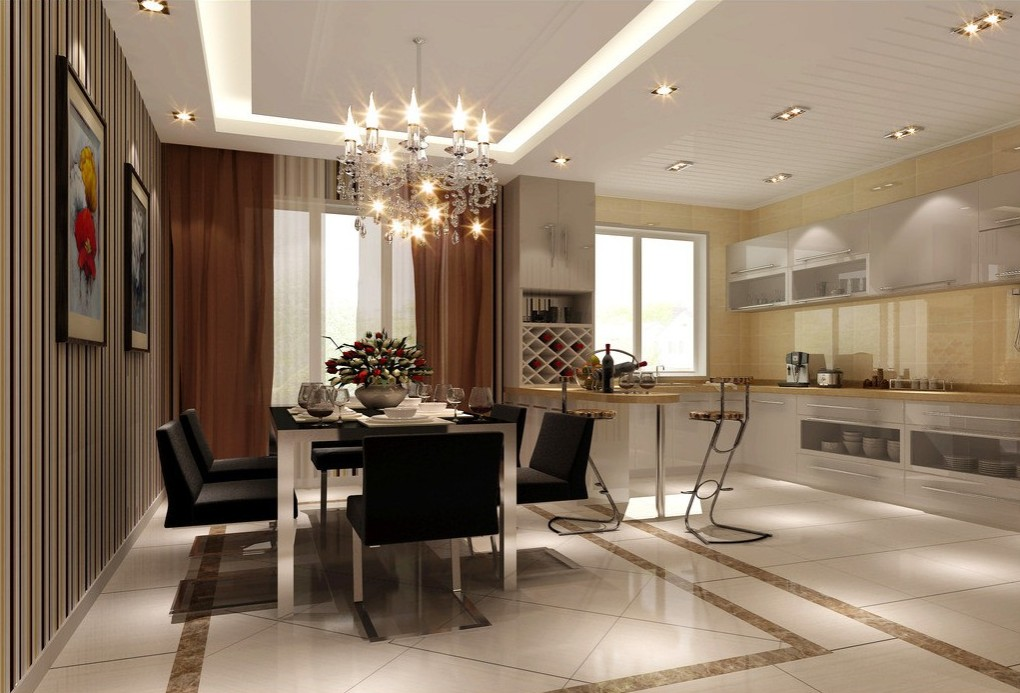 Luxurius Kitchen And Dining Room Designs (Image 4 of 10)