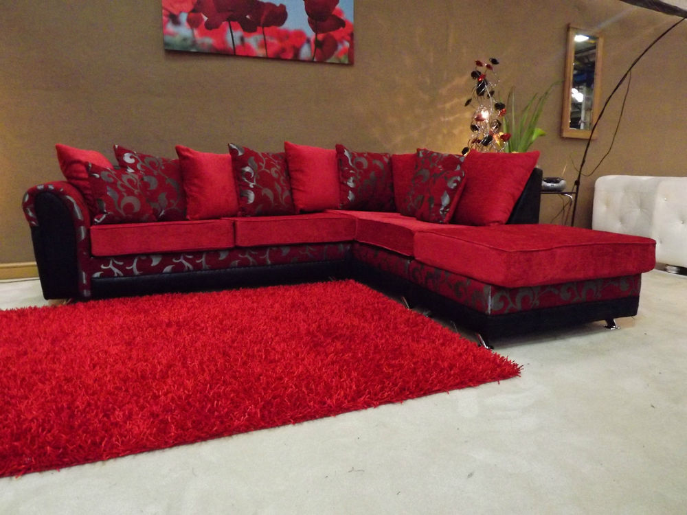 Luxury Red Sofa Bed Sheets (View 7 of 10)