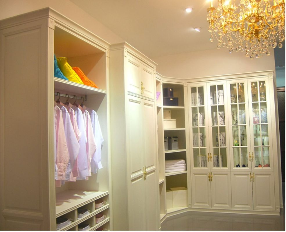 Luxury Wardrobe Closet Common Types
