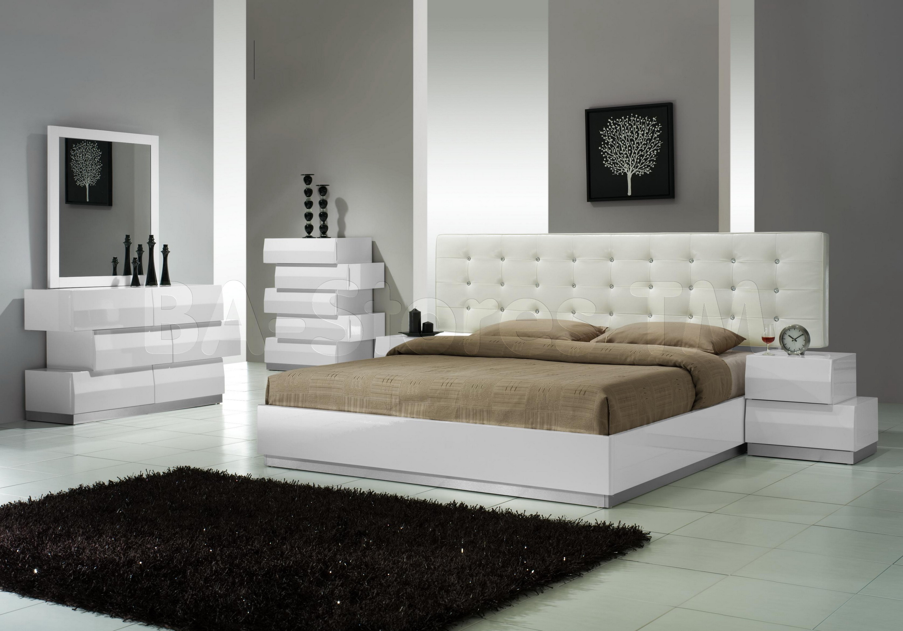 Mattress In Modern Bedroom Ideas (Image 8 of 10)