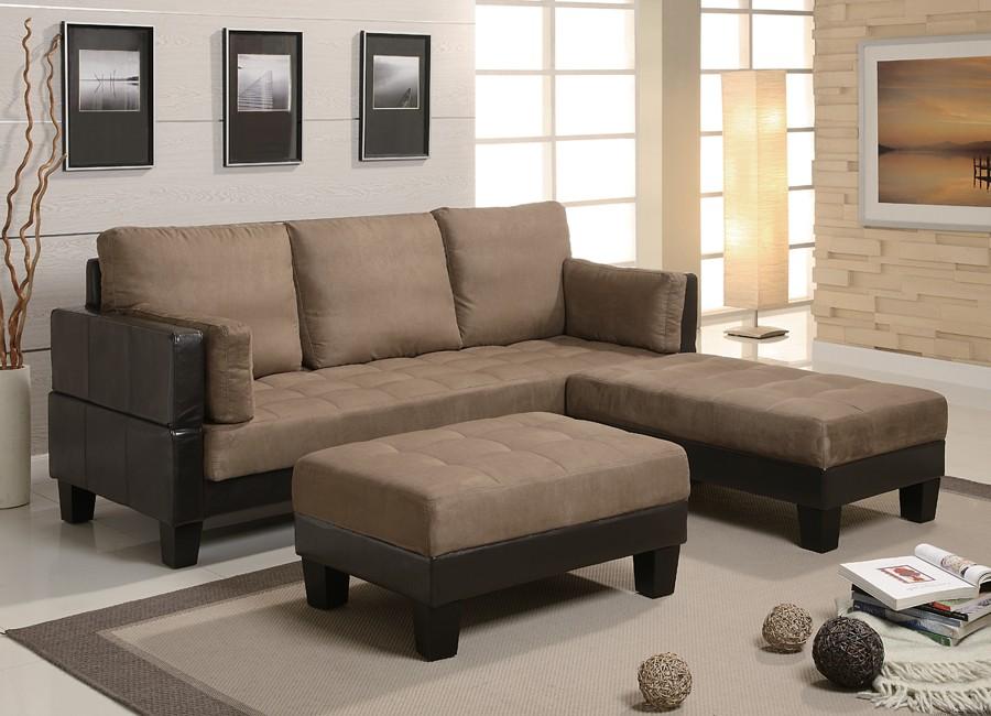 Microfiber Sofa Bed (View 9 of 10)