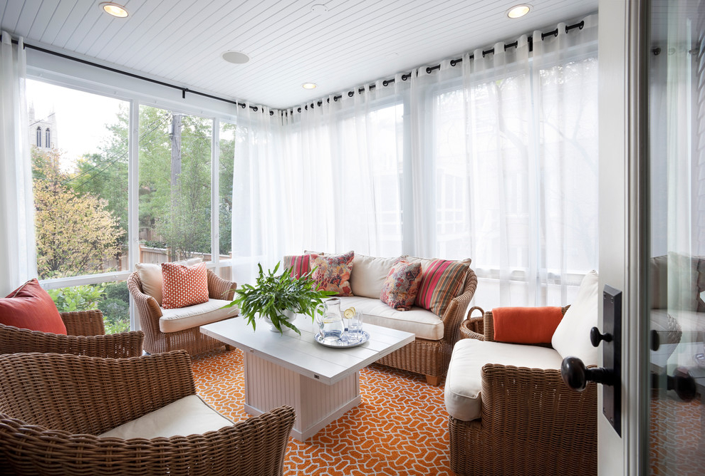 Featured Photo of Simple Curtains For Triple Windows