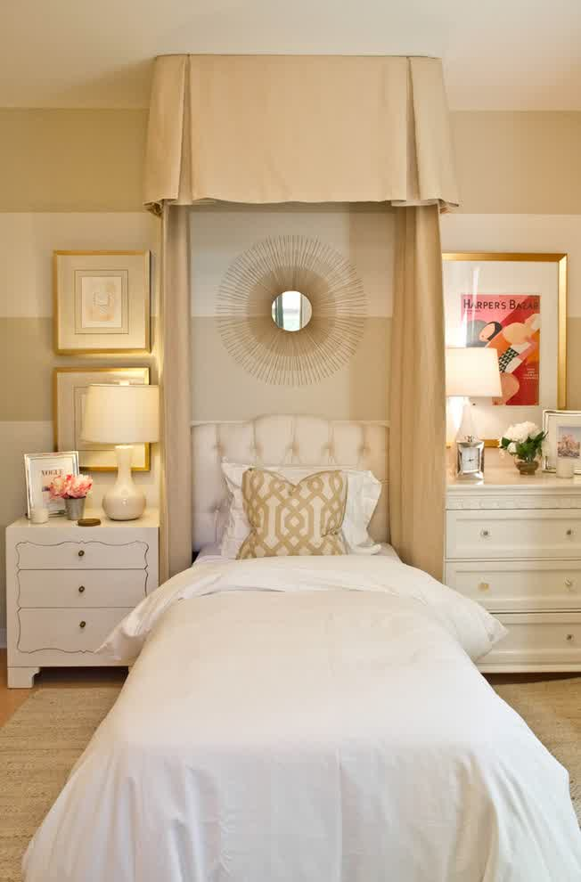 Minimalist Girl Bedroom