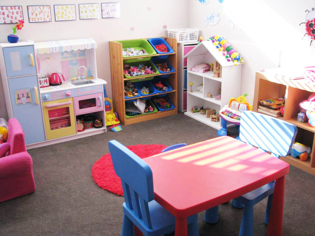 Minimalist Girl Kids Playroom Designs (View 7 of 10)