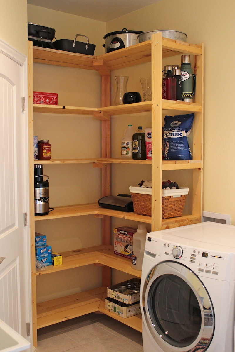 Minimalist Loundry Room Shelving (Image 8 of 10)
