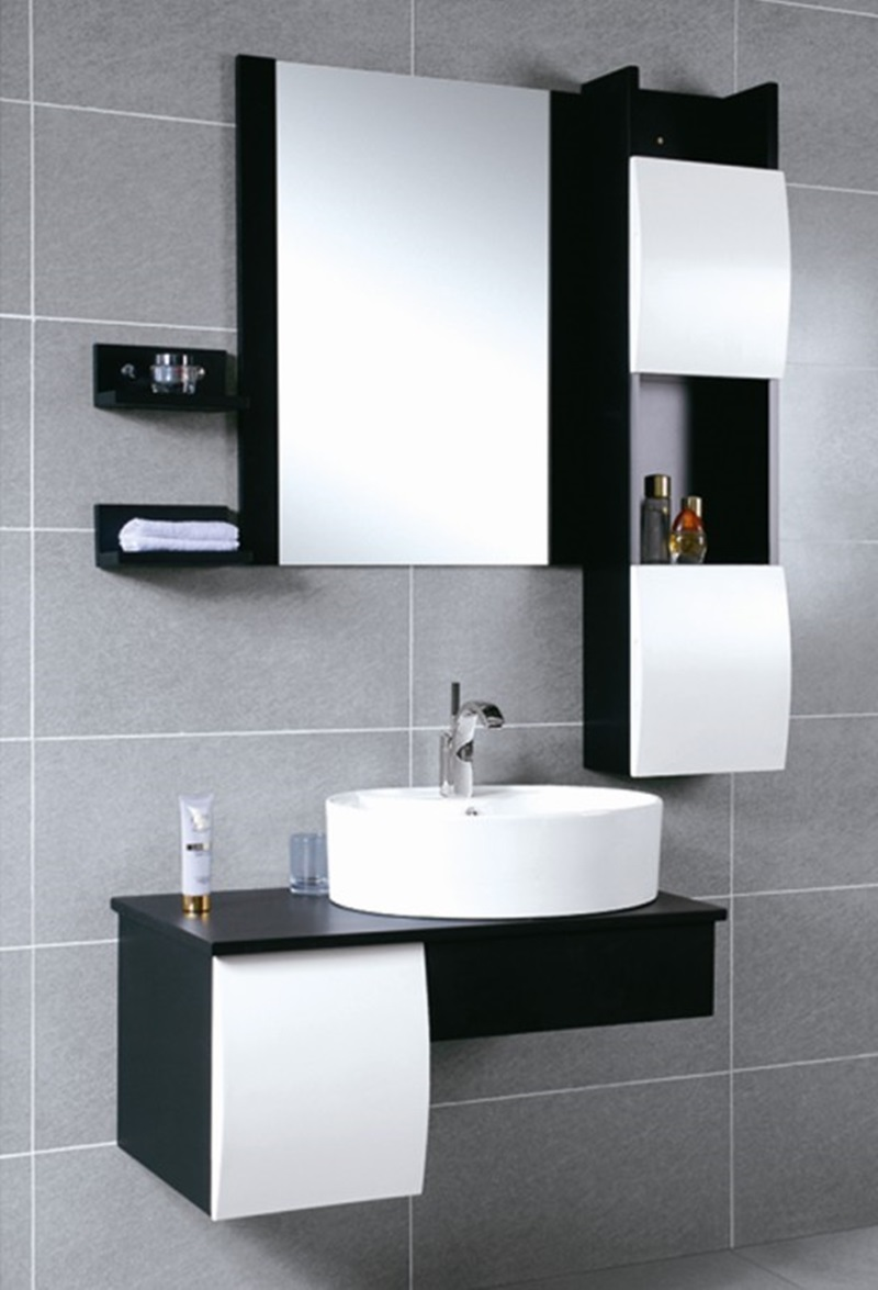 Featured Photo of Practical Bathroom Vanity Cabinets