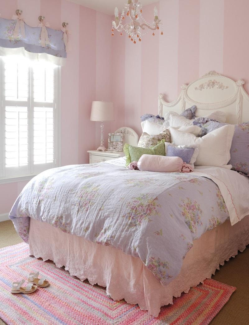 Modern Bedroom For Teenage Girl (View 2 of 10)