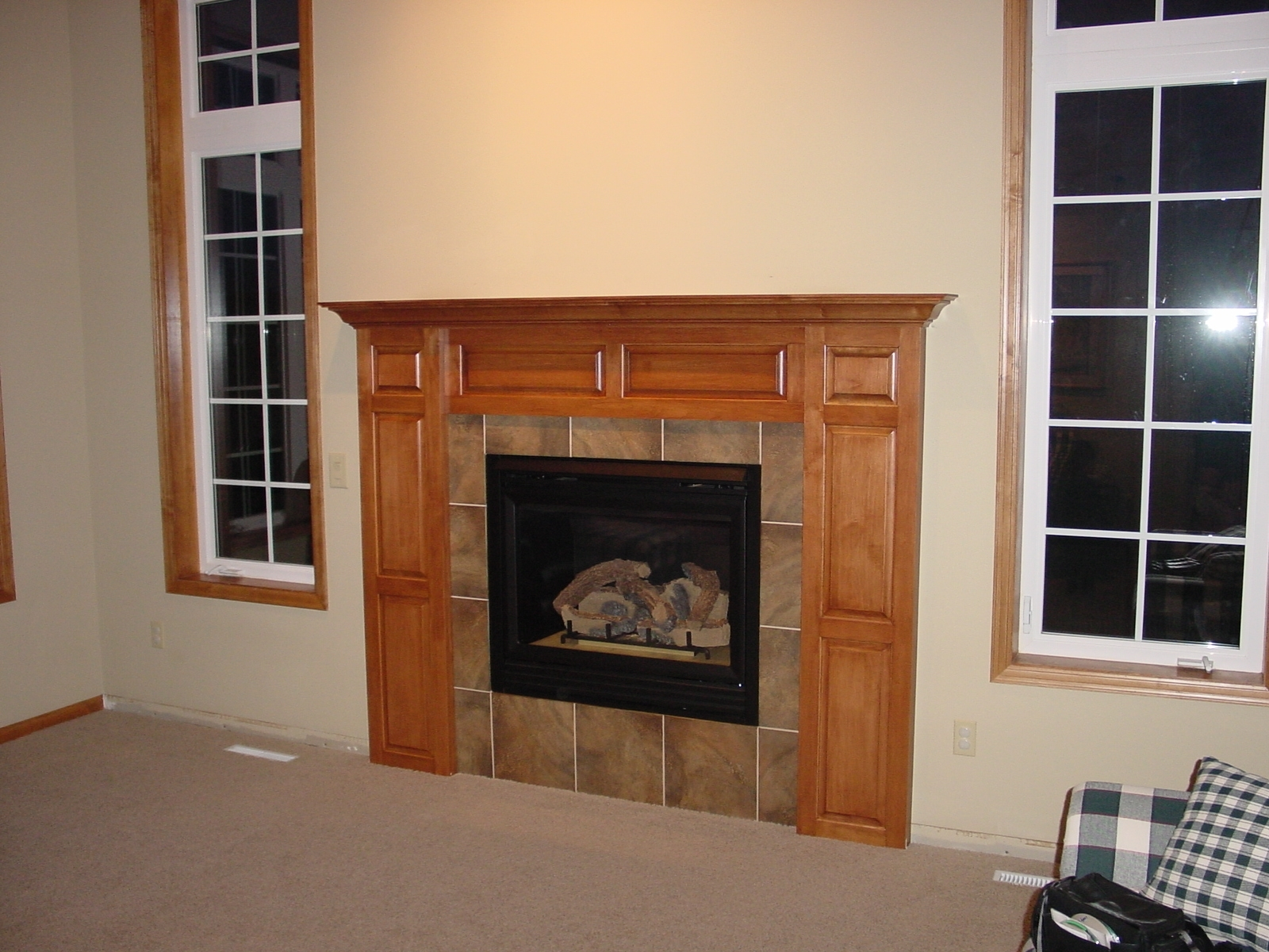 Modern Fireplace Mantel Kits Ideas (Image 6 of 10)
