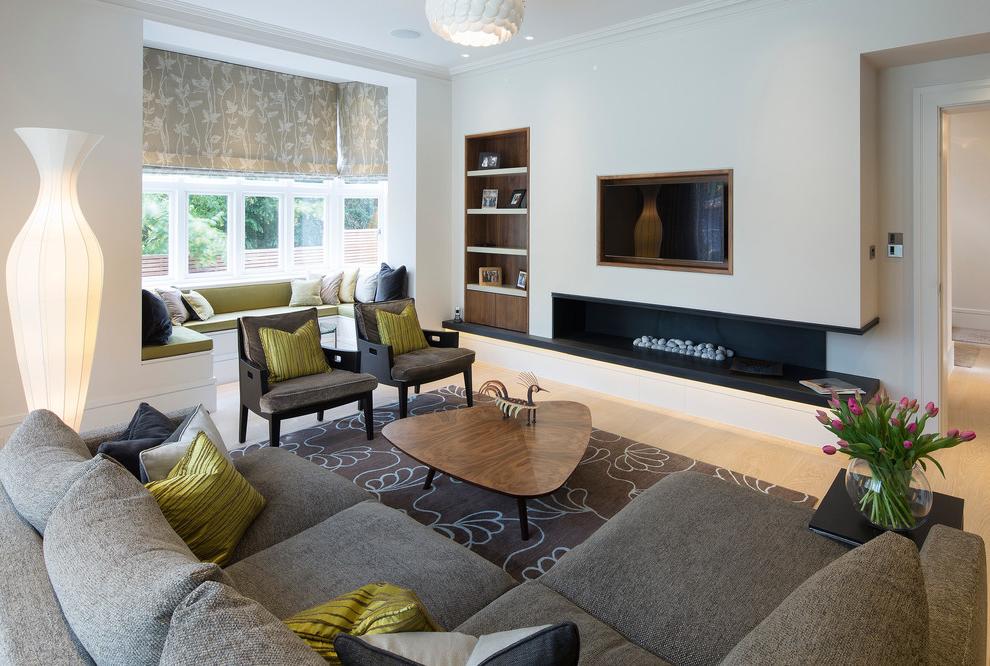 Modern Formal Living Room Interior