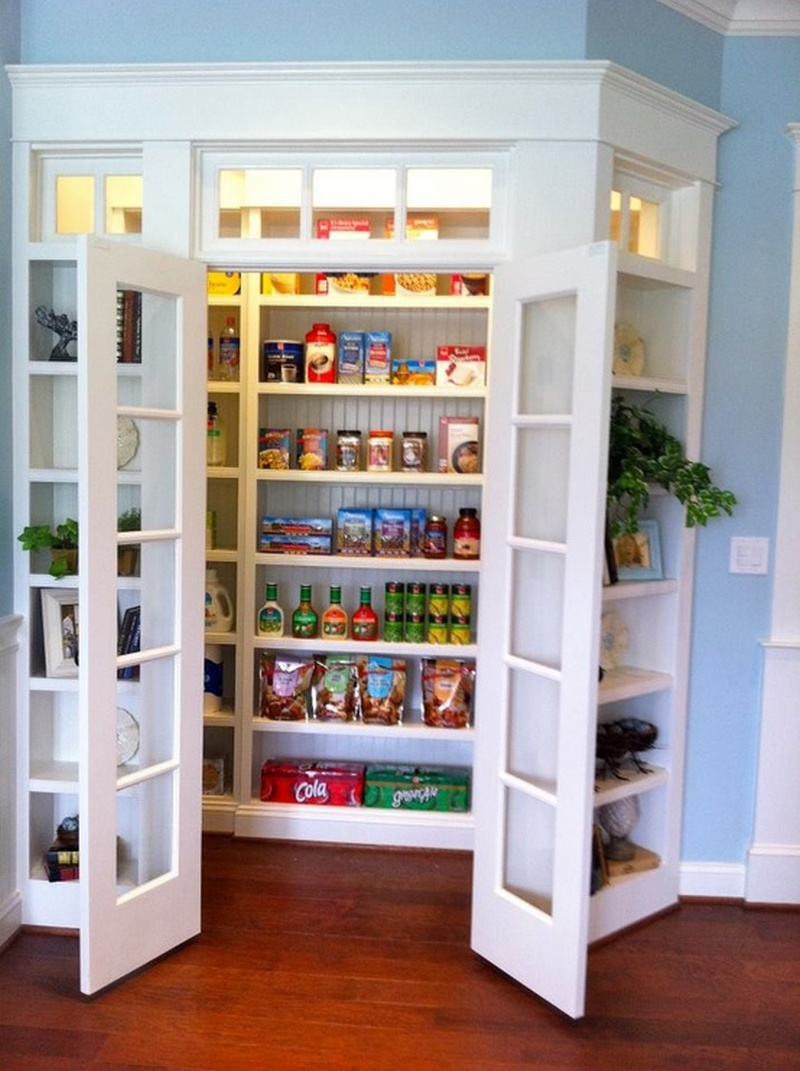 Modern Functional And Practical Kitchen Pantry (Image 6 of 10)