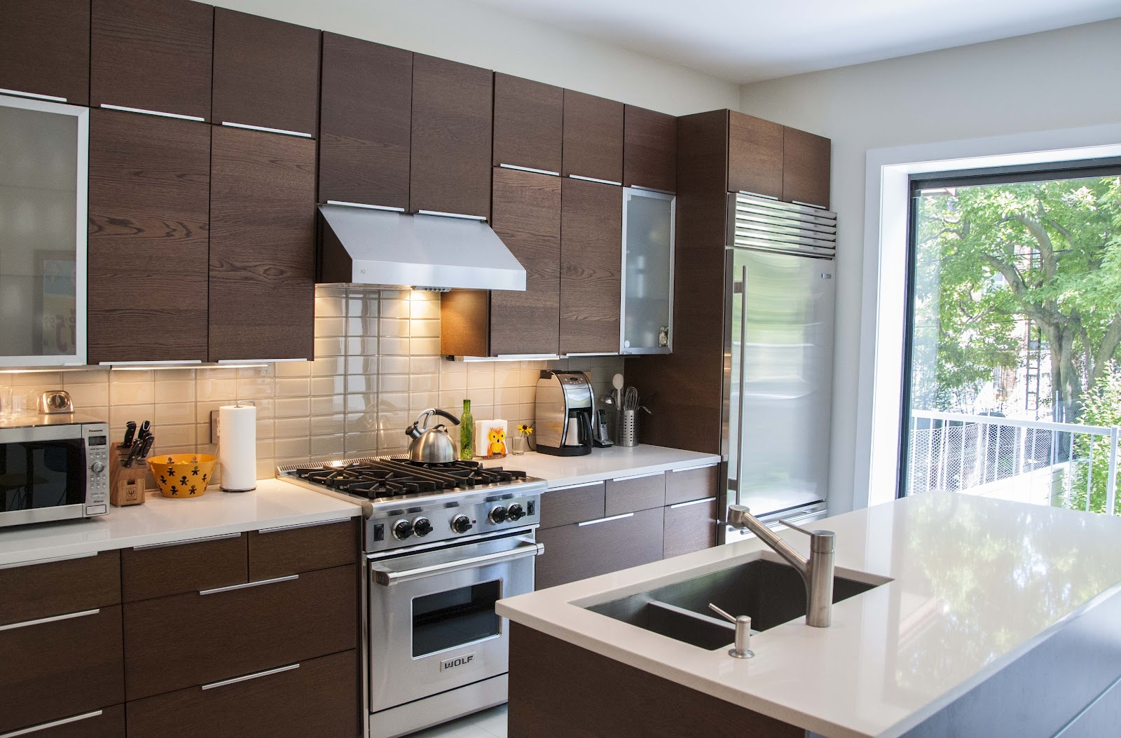 Modern IKEA Kitchen Cabinets (View 5 of 10)