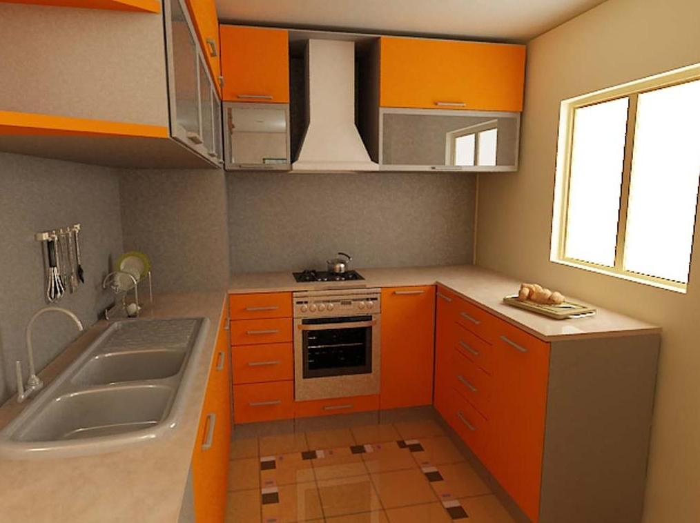 Modern Kitchen With Small layout