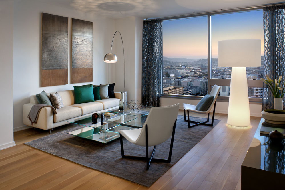 Modern Minimalist Penthouse Design (View 9 of 10)