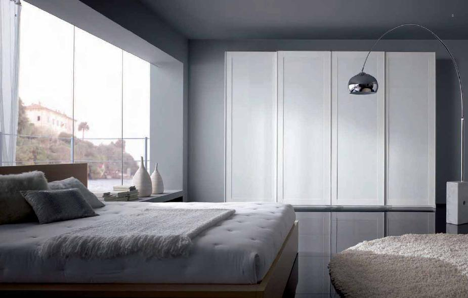 Bedroom wardrobe closet common types custom home design for Different types of wardrobe designs