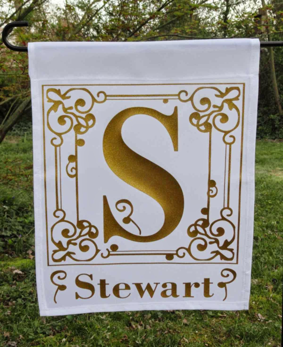 Monogram Custom Flags and Gifts