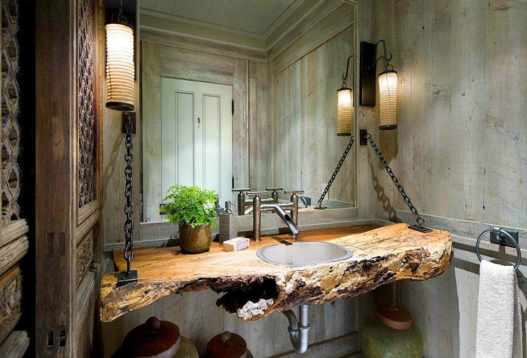 Natural Wood Theme For Accessories Home Decor (Image 10 of 10)