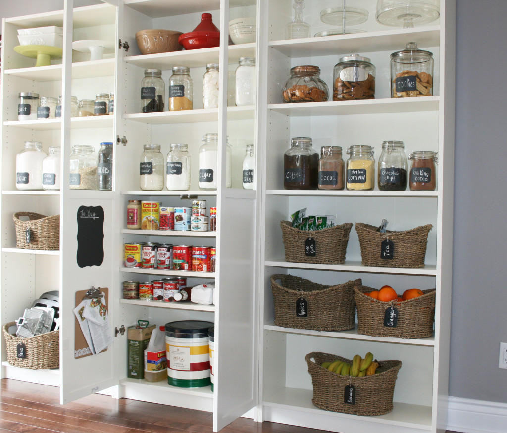 Neat Functional And Practical Kitchen Pantry (Image 7 of 10)