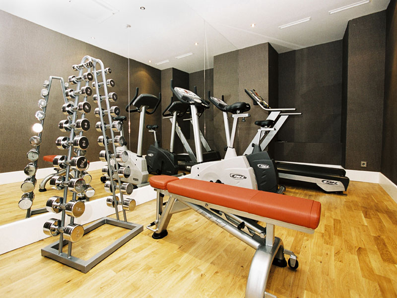 Nice Ideas Designing Gym Room in Home