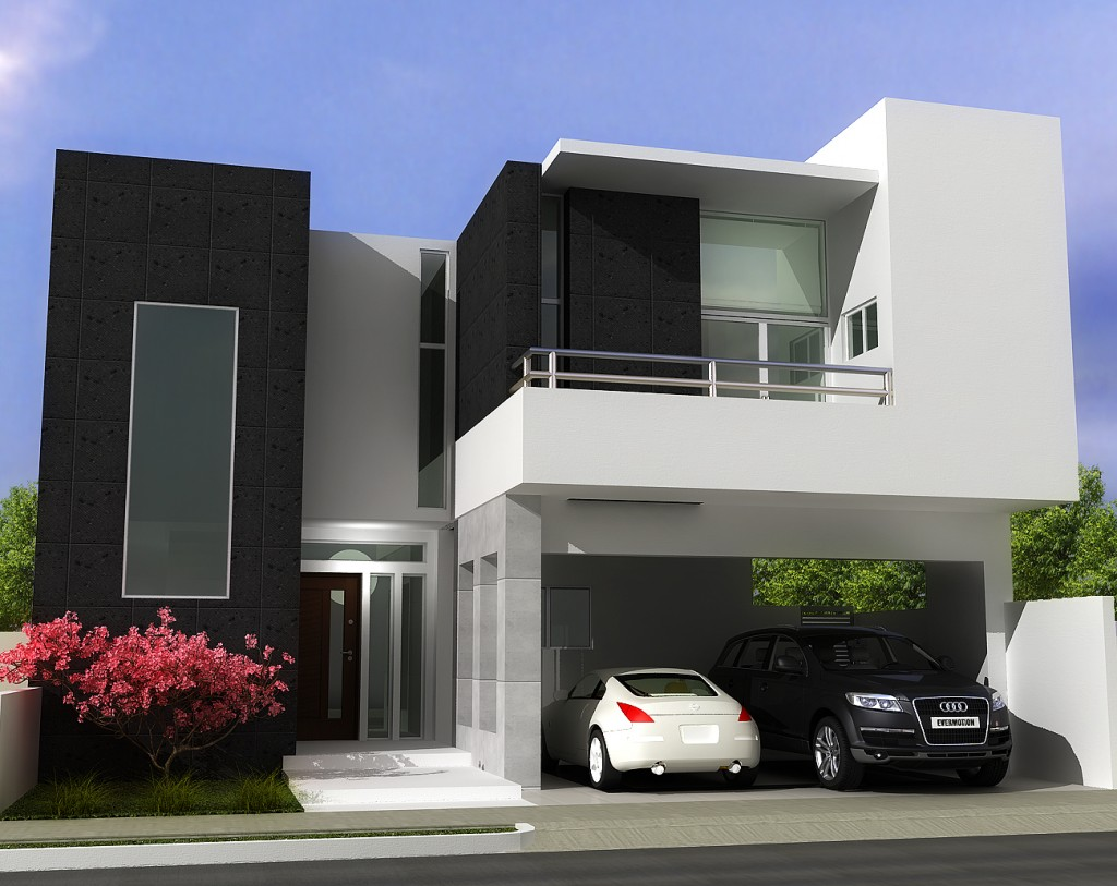 Opened Garages With Two Levels Ideas (Image 7 of 10)