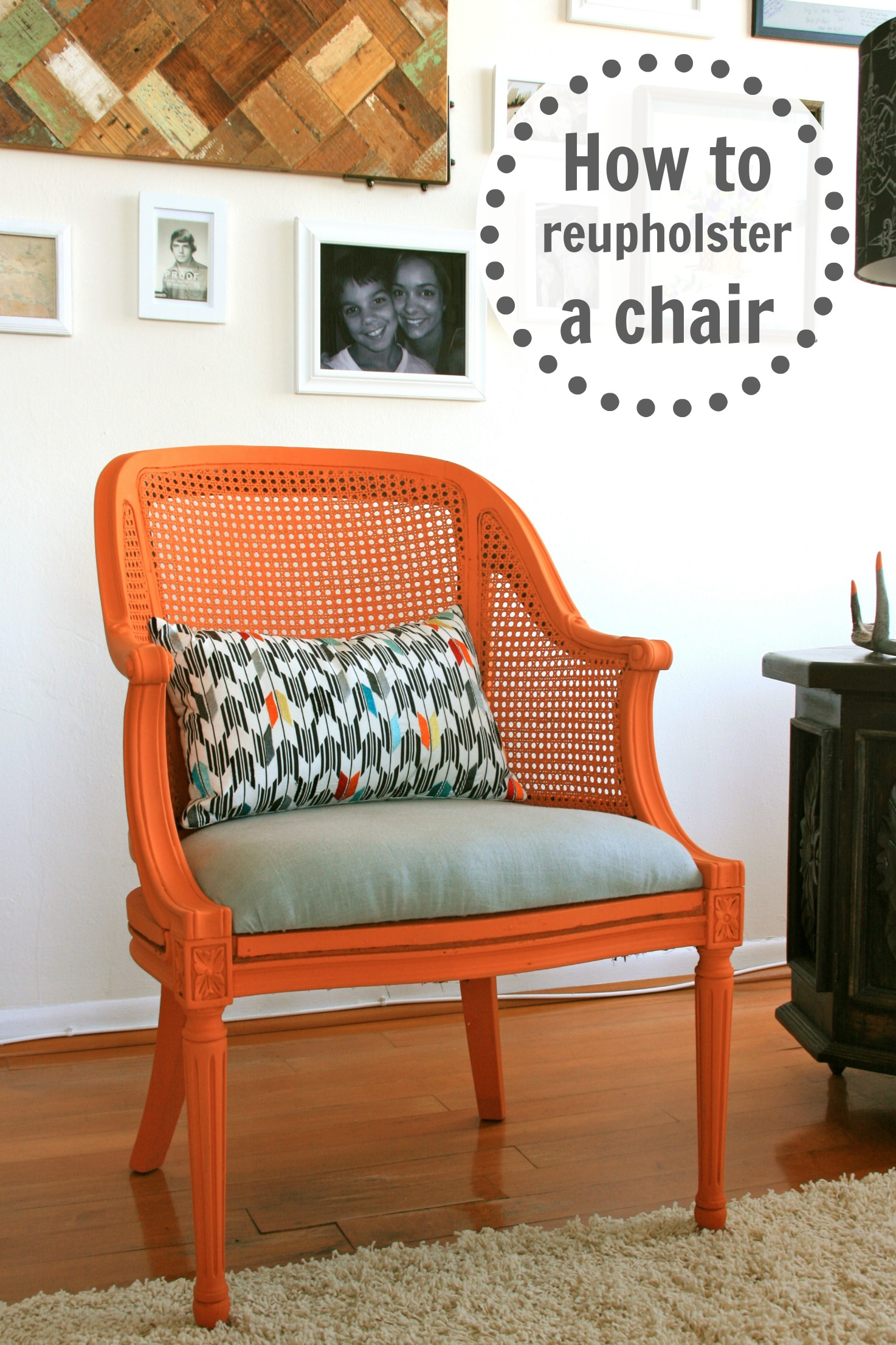 Featured Photo of Some Ways For Reupholstering A Chair