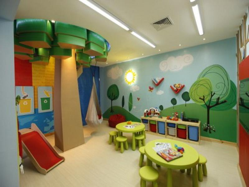 Out Door Decor Kids Playroom Designs