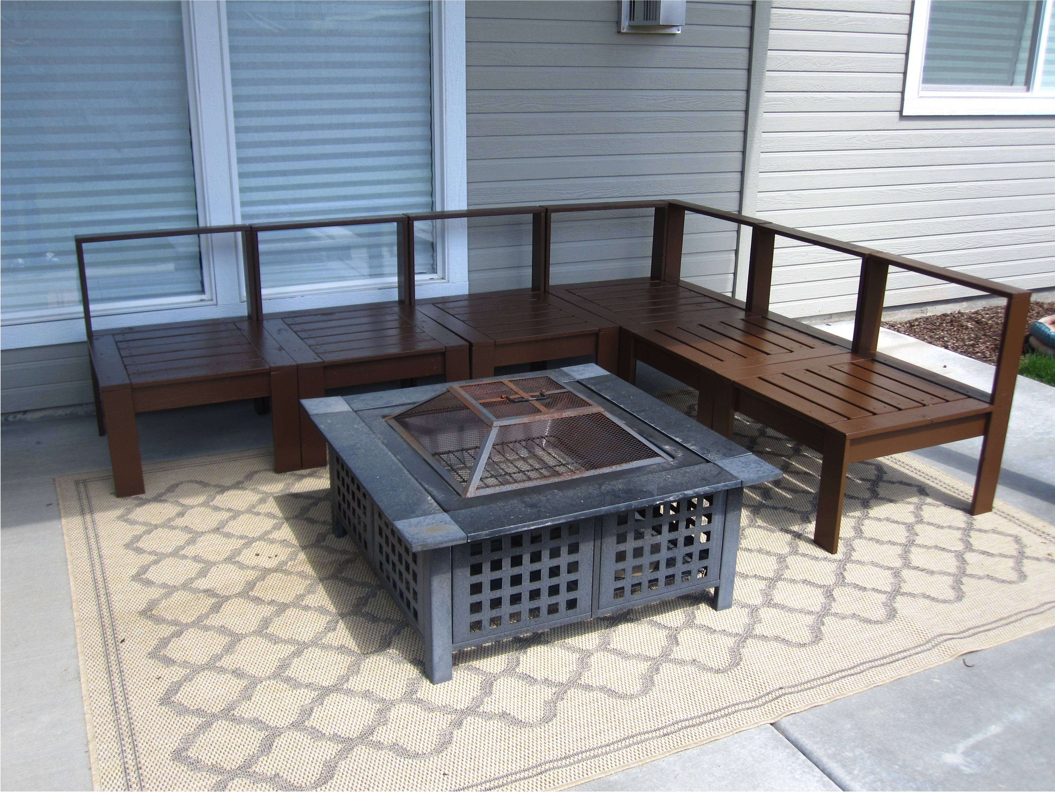 Outdoor Sectionals Patio Furniture (View 7 of 20)