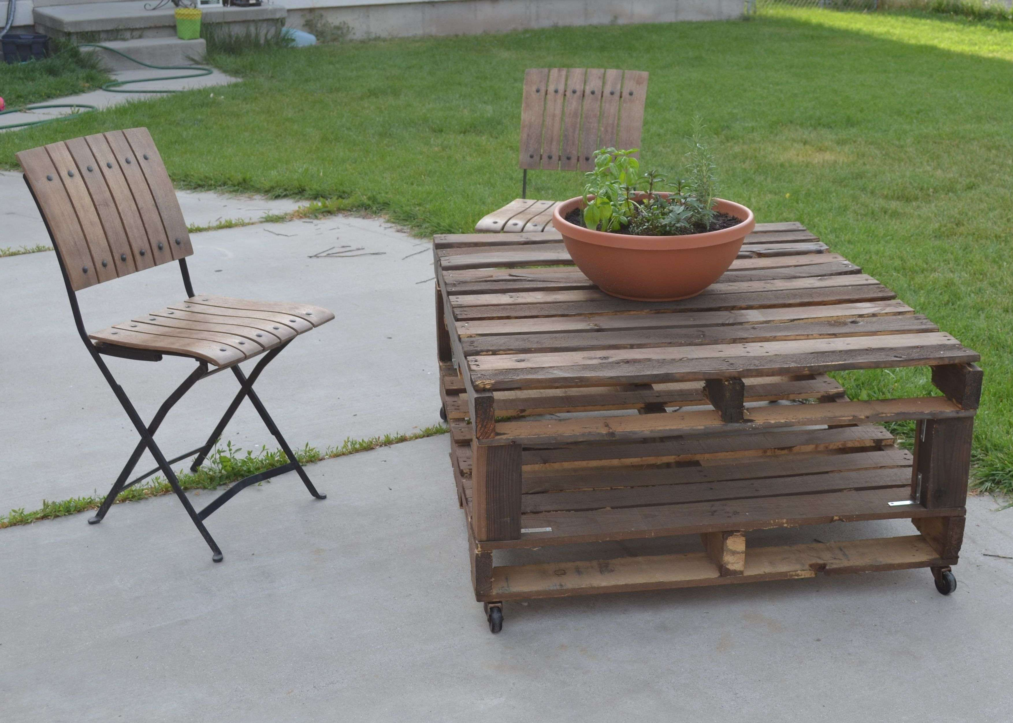 Patio Pallet Furniture Plans (View 10 of 20)
