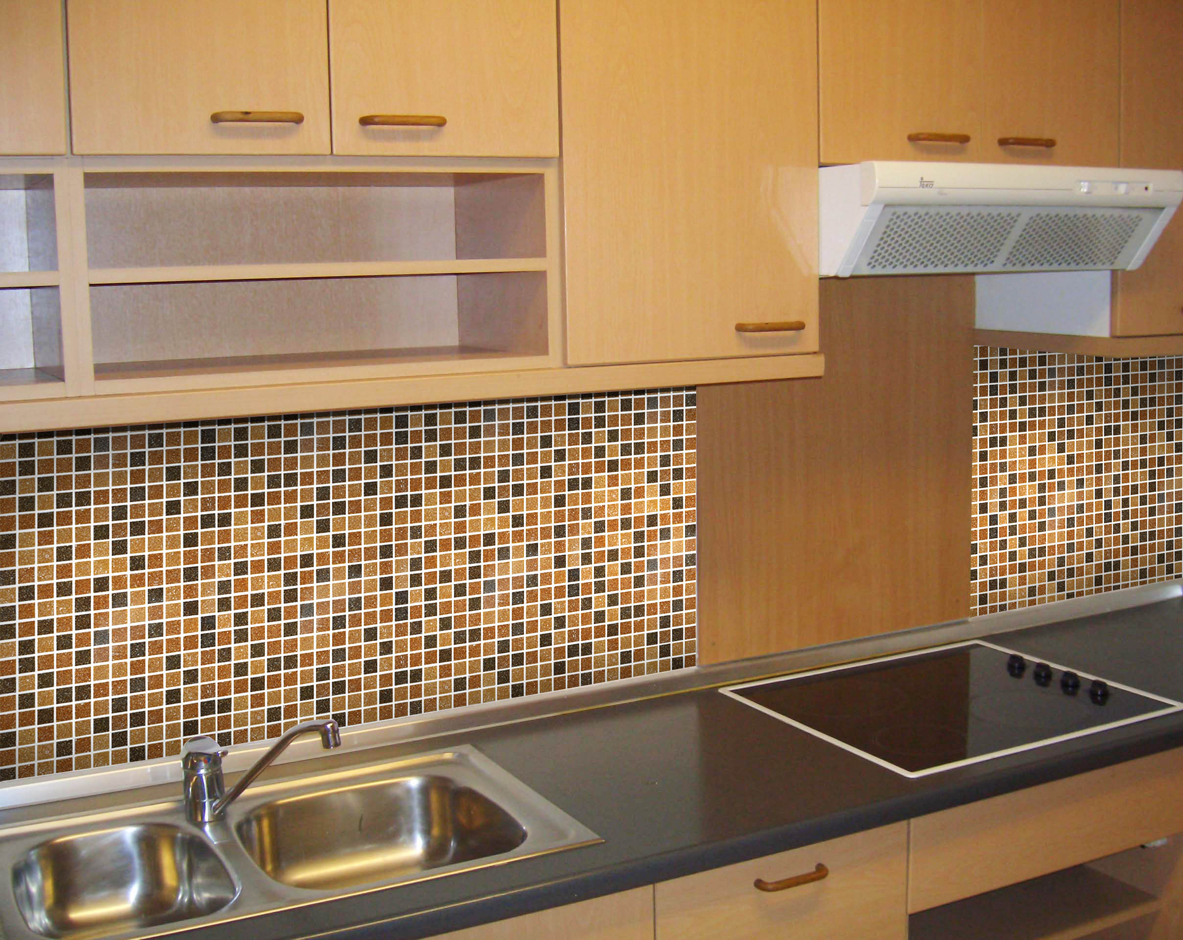 fine kitchen tiles mosaic with accents backsplash tumbled
