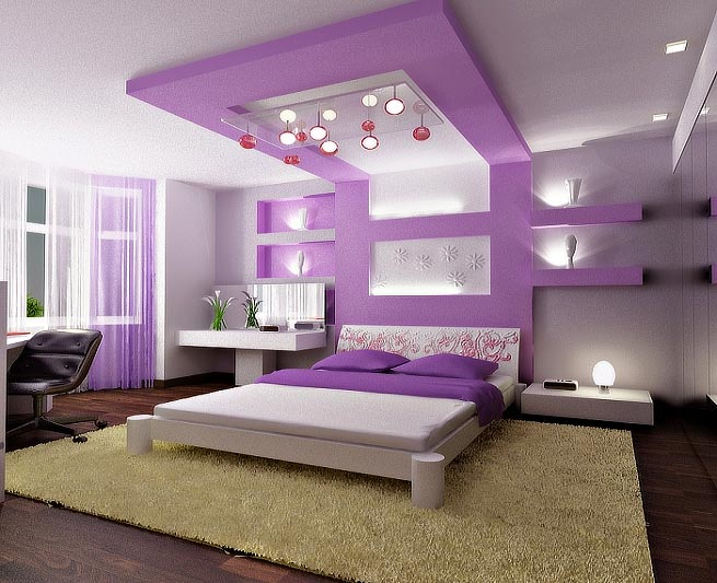 Pink Small Bedroom Paint Ideas (View 1 of 10)