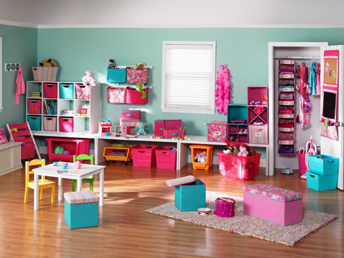 Pinky For Girl Kids Playroom Designs