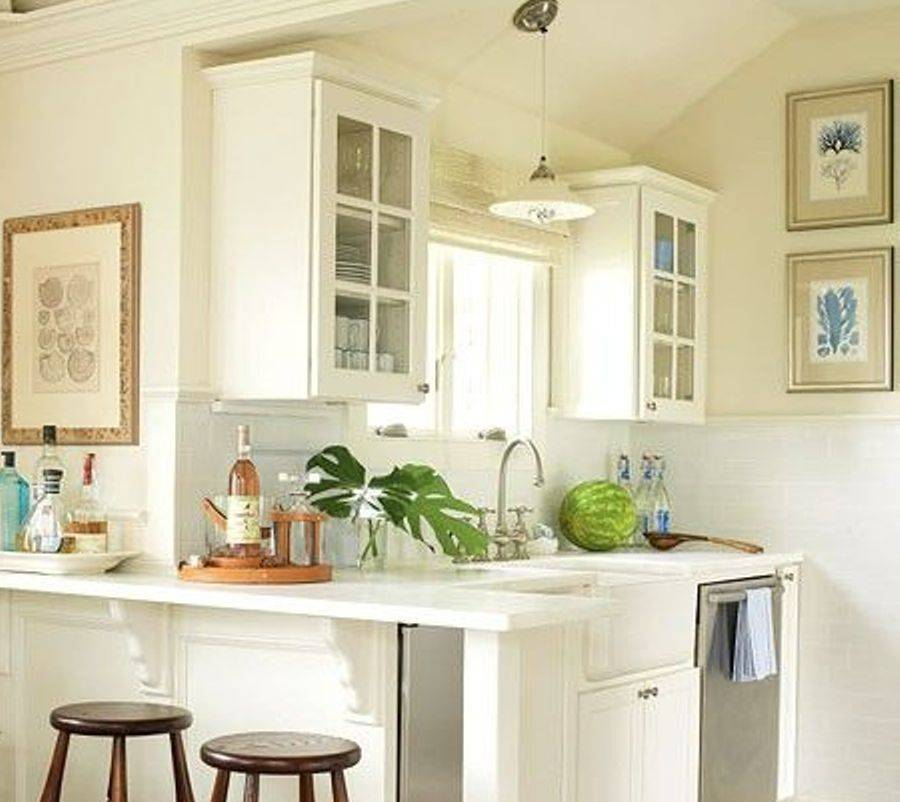 Very Small White Kitchen Very Small Kitchen   Home Design Ideas    Murphysblackbartplayers Part 66