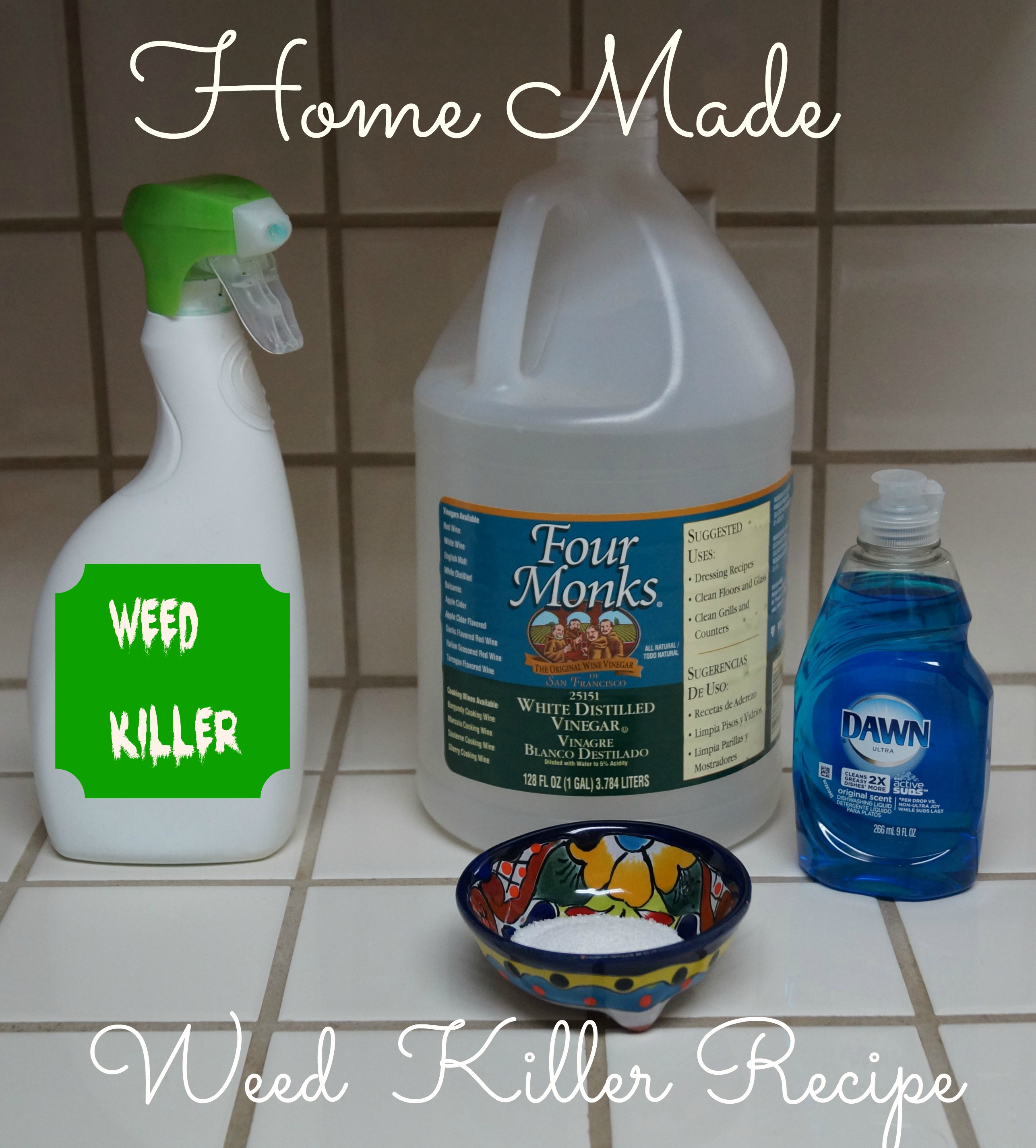 Recipe Homemade Best Weed Killer for Lawns