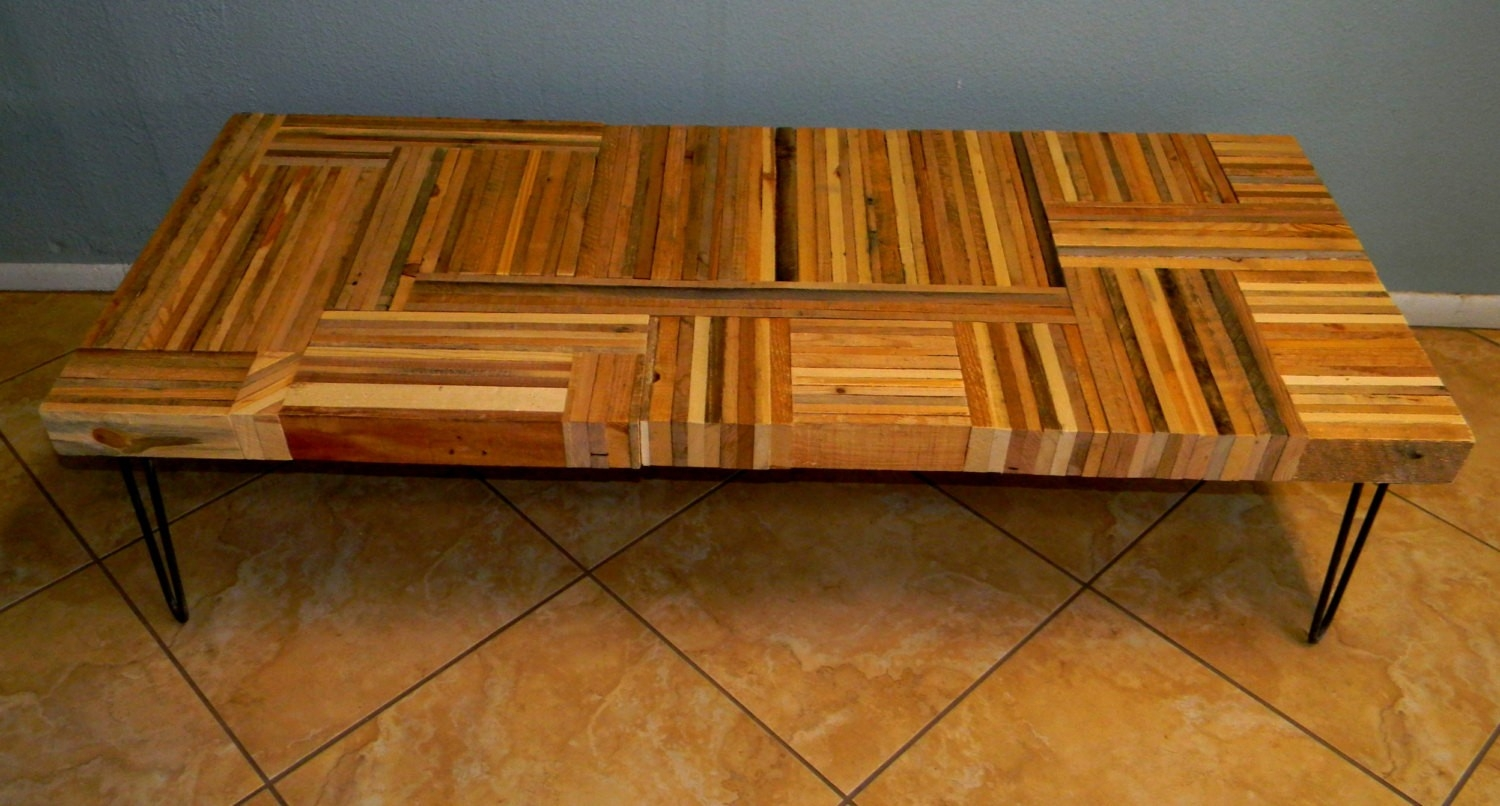 Reclaimed Wood Coffee Table Or Bench