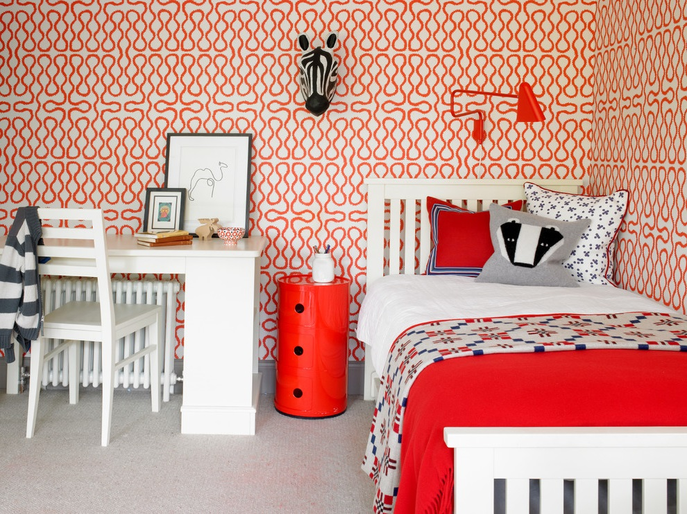 Red Girl Bedroom Theme